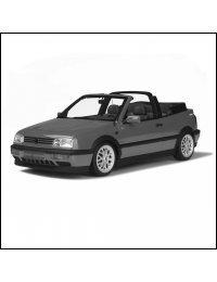Volkswagen Golf III Cabrio (A3 Typ 1H) 1993-2003