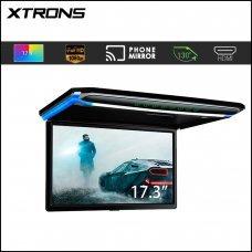 "Xtrons CM173HD 17.3"" FULL HD Ultra Thin Digital Screen Roof Mounted Monitor"