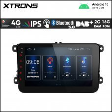 """Xtrons PSD80MTVL 8"""" VW / SEAT / SKODA Navigation Multimedia Player with Built-in DSP and 4G"""
