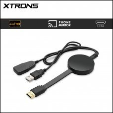 Xtrons HDTV05 Wireless Screen Mirroring Adapter for Smart Phone to HD Monitor