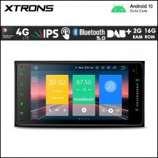 """Xtrons IN70HGTL Toyota 7"""" Android Navigation Multimedia Player with Built-in DSP and 4G"""