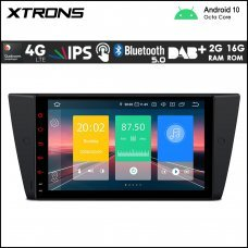 """Xtrons IN9090BL BMW 3 Series 9"""" Car Android Multimedia Navigation System with Built-in 4G"""