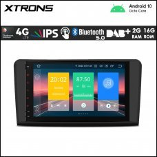 """Xtrons IN90M164L 9"""" Mercedes-Benz (ML/GL Class) Custom Fit Android Car Stereo Multimedia Navigation System With 4G"""