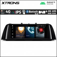 """Xtrons QB10FVNB BMW 5 Series F10/F11 NBT 10.25"""" Car Android Multimedia Navigation System with Built-in 4G"""