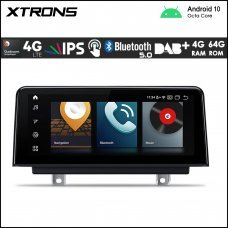 """Xtrons QB10NBTH BMW 3 & 4 Series NBT 10.25"""" Car Android Multimedia Navigation System with Built-in 4G"""