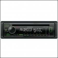 Kenwood KDC 130UG CD Tuner with Aux In & USB Green Illumination Car Stereo