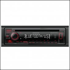 Kenwood BT440U CD/USB-Receiver with Built-in Bluetooth & AUX Stereo