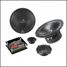 """Helix P63-C 6.5"""" 3 Way Component Speakers"""