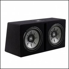 """JBL STAGE-1220B Twin 12"""" Subwoofers in Slot-Ported Enclosure"""