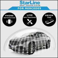 StarLine Smart Tracking Security For Mercedes Fully Fitted