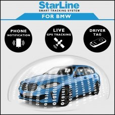 StarLine Smart Tracking Security For BMW Fully Fitted
