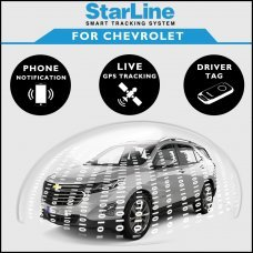 StarLine Smart Tracking Security For Chevrolet Fully Fitted