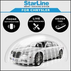 StarLine Smart Tracking Security For Chrysler Fully Fitted