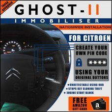 Autowatch Ghost 2 Immobiliser For Citroen - Mobile Installation FREE £25 Amazon Gift Voucher