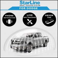 StarLine Smart Tracking Security For Dodge Fully Fitted