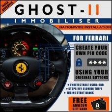Autowatch Ghost 2 Immobiliser For Ferrari - Mobile Installation FREE £25 Amazon Gift Voucher