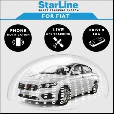 StarLine Smart Tracking Security For Fiat Fully Fitted
