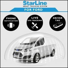 StarLine Smart Tracking Security For Ford Fully Fitted