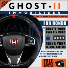 Autowatch Ghost 2 Immobiliser For Honda - Mobile Installation FREE £25 Amazon Gift Voucher