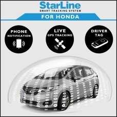 StarLine Smart Tracking Security For Honda Fully Fitted
