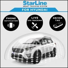StarLine Smart Tracking Security For Hyundai Fully Fitted