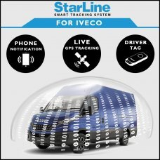 StarLine Smart Tracking Security For Iveco Fully Fitted