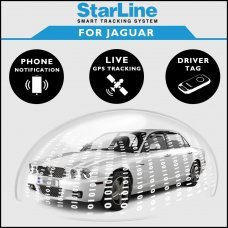 StarLine Smart Tracking Security For Jaguar Fully Fitted