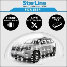 StarLine Smart Tracking Security For Jeep Fully Fitted