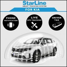 StarLine Smart Tracking Security For Kia Fully Fitted