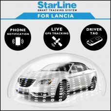 StarLine Smart Tracking Security For Lancia Fully Fitted