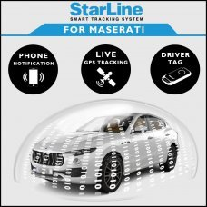 StarLine Smart Tracking Security For Maserati Fully Fitted