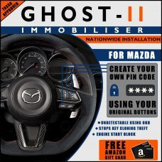 Autowatch Ghost 2 Immobiliser For Mazda - Mobile Installation FREE £25 Amazon Gift Voucher