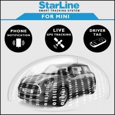 StarLine Smart Tracking Security For Mini Fully Fitted