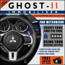 Autowatch Ghost 2 Immobiliser For Mitsubishi - Mobile Installation FREE £25 Amazon Gift Voucher