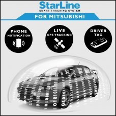 StarLine Smart Tracking Security For Mitsubishi Fully Fitted