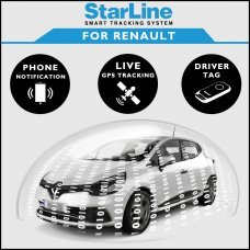 StarLine Smart Tracking Security For Renault Fully Fitted