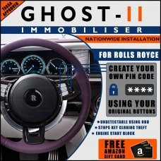Autowatch Ghost 2 Immobiliser For Rolls Royce - Mobile Installation FREE £25 Amazon Gift Voucher