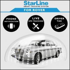 StarLine Smart Tracking Security For Rover Fully Fitted