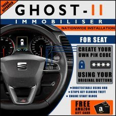 Autowatch Ghost 2 Immobiliser For Seat - Mobile Installation FREE £25 Amazon Gift Voucher