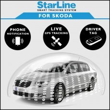 StarLine Smart Tracking Security For Skoda Fully Fitted