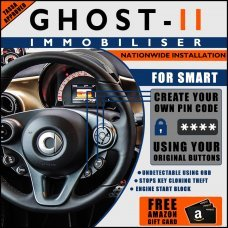 Autowatch Ghost 2 Immobiliser For SMART - Mobile Installation FREE £25 Amazon Gift Voucher