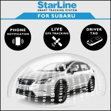 StarLine Smart Tracking Security For Subaru Fully Fitted