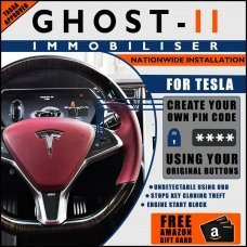 Autowatch Ghost 2 Immobiliser For Tesla - Mobile Installation FREE £25 Amazon Gift Voucher
