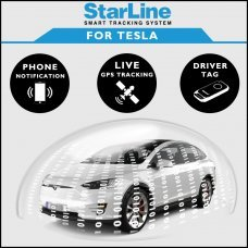 StarLine Smart Tracking Security For Tesla Fully Fitted