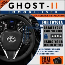 Autowatch Ghost 2 Immobiliser For Toyota - Mobile Installation FREE £25 Amazon Gift Voucher