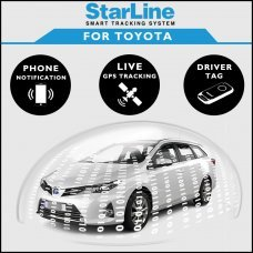 StarLine Smart Tracking Security For Toyota Fully Fitted