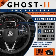 Autowatch Ghost 2 Immobiliser For Vauxhall - Mobile Installation FREE £25 Amazon Gift Voucher