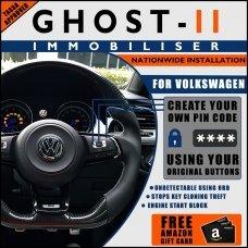 Autowatch Ghost 2 Immobiliser For Volkswagen - Mobile Installation FREE £25 Amazon Gift Voucher