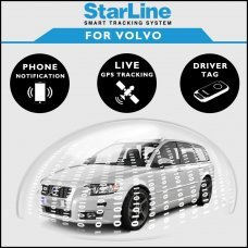 StarLine Smart Tracking Security For Volvo Fully Fitted