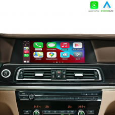 """BMW 7 Series F01 2008-2012 Wireless Carplay & Android Auto Interface for CIC 10.2"""" Screen"""